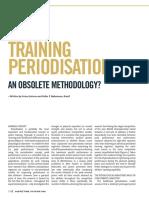 Training Periodization - An Obsolete Methodology