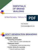 Essentials of Branding