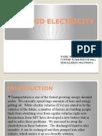 Liquid Electricity