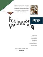 Poblacion Venezolana