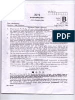 AEE Screening Test Civil Engineering Question PAPER 2016 key