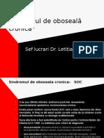 Sindromul de Oboseala Cronica