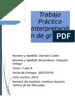 Trabajo Práctico Interpretación de Gráficos