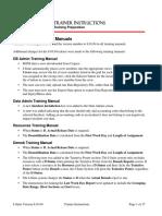 I Suite Trainer Instructions 80104