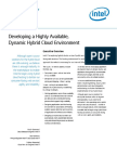 Developing Highly Available Dynamic Hybrid Cloud Environment