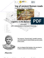The engineering of ancient Roman roads