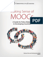 2016 Guide on MOOCs for Policy Makers in Developing Countries