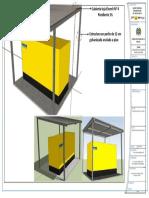 Simulación 3D Cubierta Planta Electrica