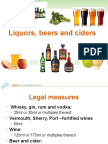 UNIT 109 Beer and Cider