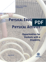 Physical Education Report