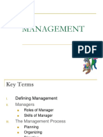 3. Managment and Planning