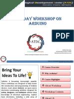 Arudino Workshop