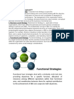 Levels of Strategic Management