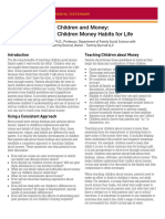 Teaching Children Money Habits for Life