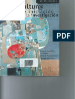 Libro Cibercultura e Iniciacion en La Investigacion