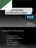 Biometric acces