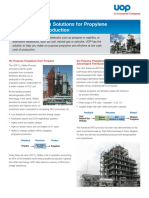 UOP Olefin Production Solutions Brochure
