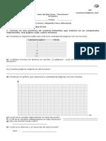 Guía de Ejercicios Funciones Lineales y Afines