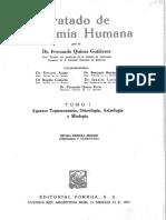 Anatomia Humana Tomo I Quiroz
