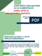 Curs 4. Analizatori Senzoriali-1