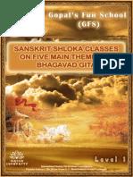 eBooks - Bhagavad Gita - 10-14 Years - 5 Main Themes of Bhagavad Gita