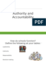 authority and accountability 1