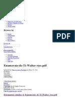 Enamorate de Ti Walter Riso