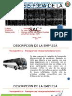 Foda de La Empresa de Transportes
