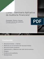 Activo Fijo Seminario Aplcativo de Auditoria Financiera