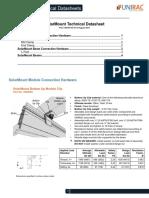 Solar Mount Tech Data Sheet
