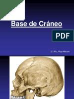 Base de Cráneo, Hioides y Columna Cervic