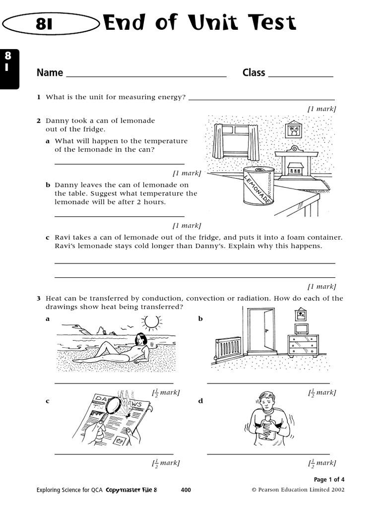 8itest.pdf | thermal conduction | heat