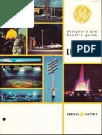 GE Lighting Systems Area Lighting Catalog 1962