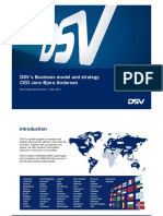 2- CMD Presentation DSV Business Model and Strategy FINA