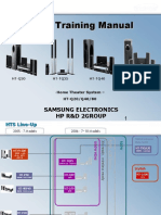 Samsung Ht-q20 q40 q80 Training Manual