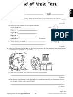 Food and Digestion Unit Test