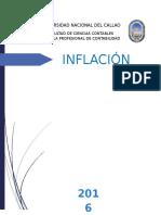 Inflación unac