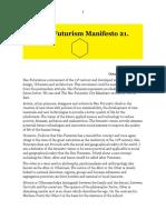 Alter Futurism Manifesto 21