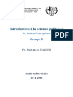Introduction science politique