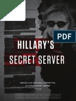 Hillary's Secret Server