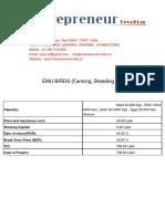 EMU BIRDS -Farming Breeding & Meat Production