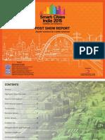 Smart Cities India 2015 Post Show Report