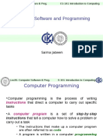 ITC Lec05 Computer Software and Programming