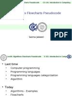 ITC Lec06 Algorithms Flowcharts Pseudocode-I