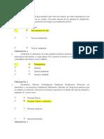 Autoevaluación 1 Procesos Industriales