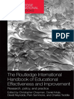 Cap 1 (Routledge International Handbooks of Education) Christopher Chapman, Daniel Muijs, David Reynolds, Pam Sammons, Charles Teddlie (Eds.)-The