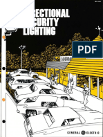 GE Lighting Systems Directional Security Lighting Brochure 12-76