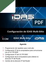 Idas IP Multi-Sitio Convencional Configuracion