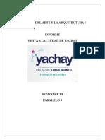 Informe Yachay s
