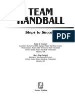 Team Handball Steps to Success